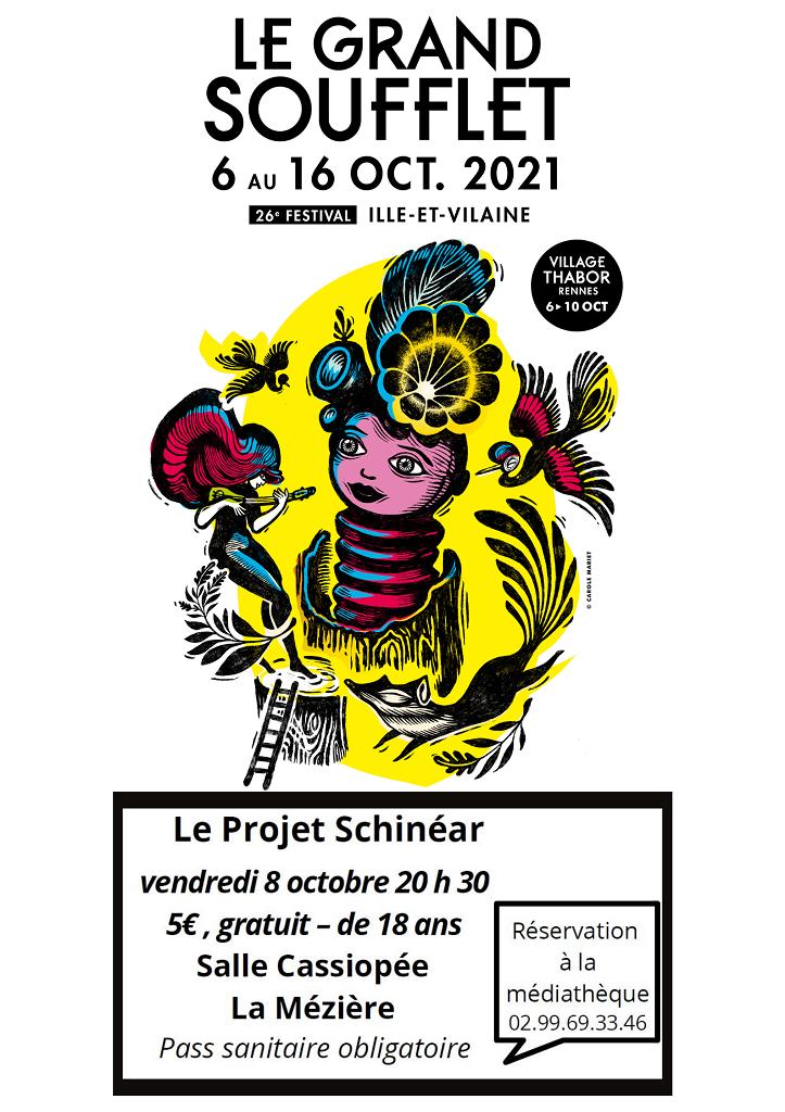 vendredi 8 octobre 20 h 30 5€ gratuit - de 18 ans Salle Cassiopée